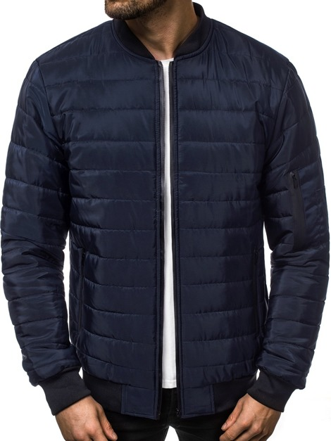 OZONEE JS/RZ06 Men's Jacket - Navy blue
