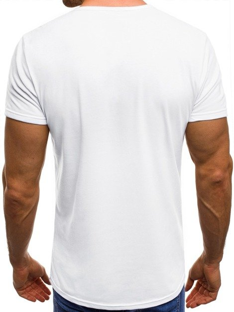 OZONEE JS/SS392 Men's T-Shirt - White