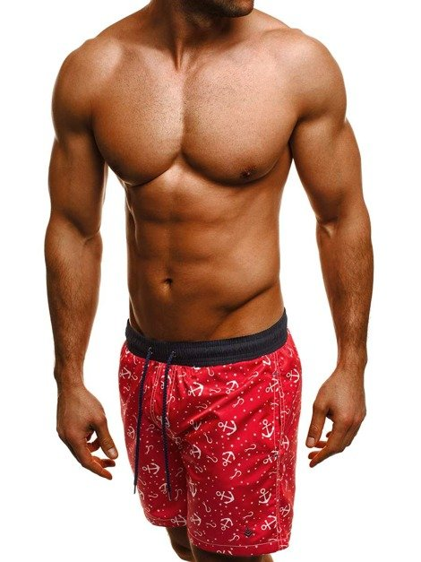 OZONEE MAD/2368 Men's Shorts - Red