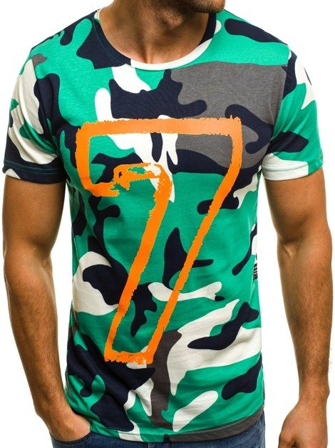 OZONEE MECH/2064 Men's T-Shirt - Camo01