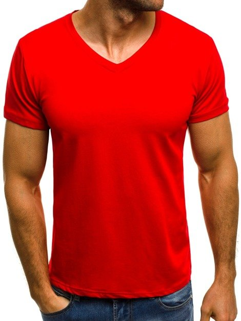 OZONEE O/1961 Men's T-Shirt - Red