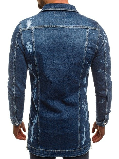 OZONEE OT/2020 Men's Denim Jacket - Blue