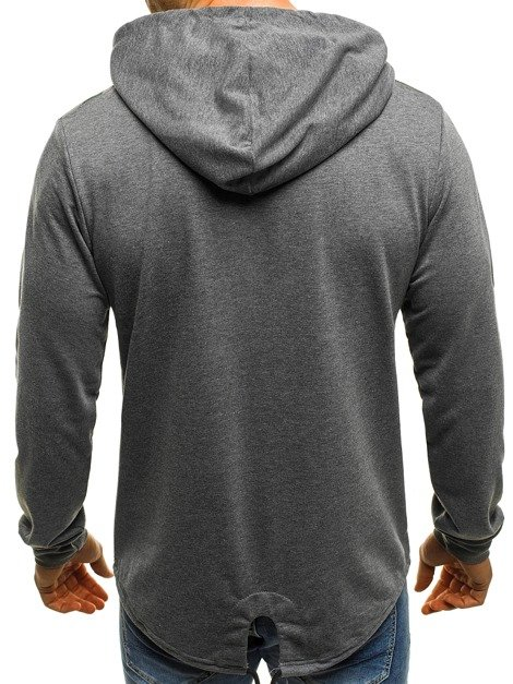 OZONEE RF/1717 Men's Sweatshirt - Dark grey