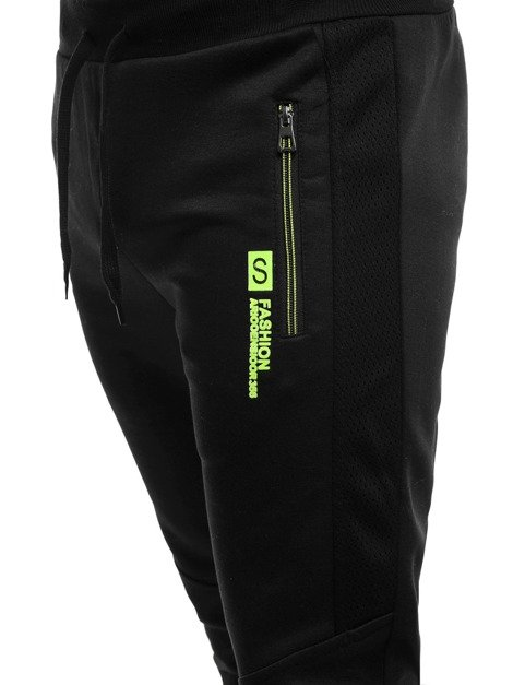RED FIREBALL 80072 Men's Jogger Sweatpants - Black