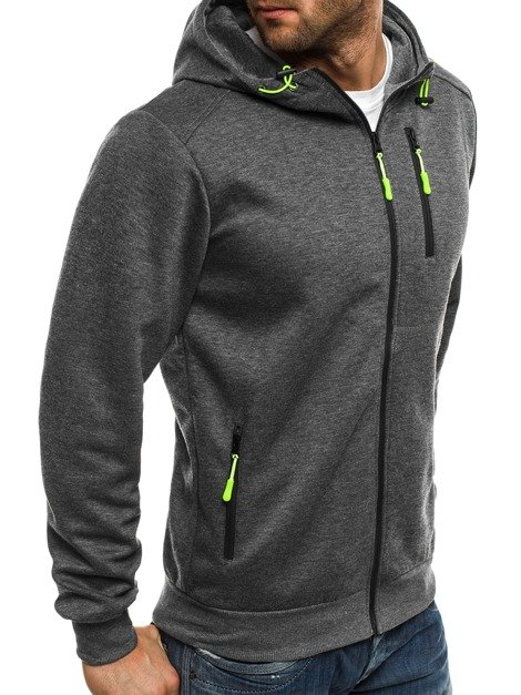 RED FIREBALL Y1052B Men's Sweatshirt - Dark grey