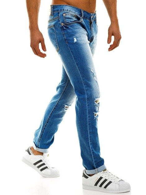 TMK 7717 Men's Jeans - Light Blue