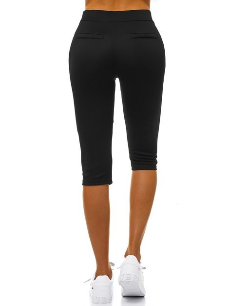 Women's Leggings - Black OZONEE JS/1027/A1