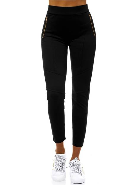 Women's Leggings - Black OZONEE JS/1039/D1