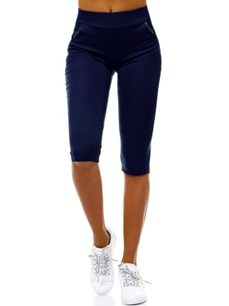 Women's Leggings - Navy blue OZONEE JS/1027/E4