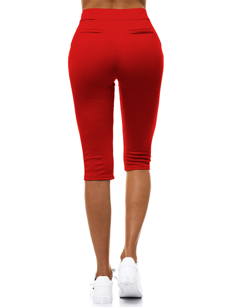 Women's Leggings - Red OZONEE JS/1027/B5