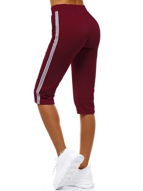 Women's Sweatpants - Burgundy OZONEE JS/1021/C13