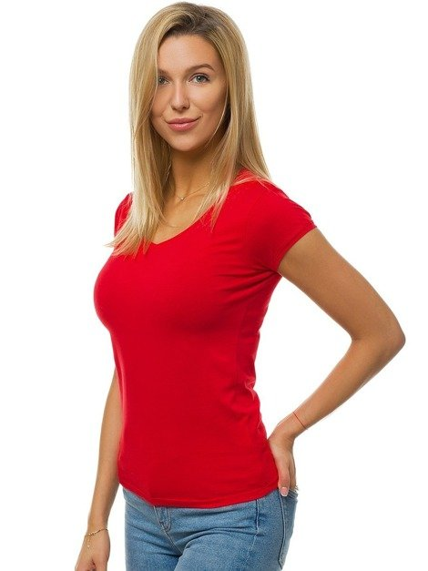 Women's T-Shirt - Red OZONEE BT/71319A