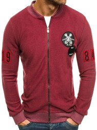 BREEZY 171500 Men's Sweatshirt - Burgundy