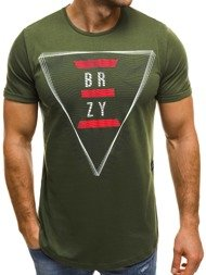 BREEZY 181165 Men's T-Shirt - Green