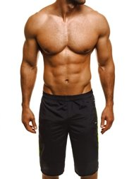 HOT RED WK20 Men's Shorts - Black
