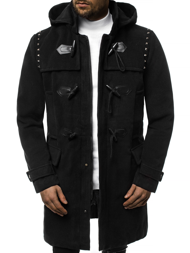 Men's Coat - Black OZONEE O/88870Z