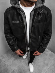 Men's Jacket - Black OZONEE JB/JP1127Z
