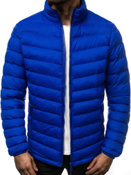 Men's Jacket - Blue OZONEE JS/SM70
