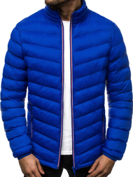 Men's Jacket - Blue OZONEE JS/SM71