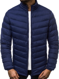 Men's Jacket - Navy blue  OZONEE JS/SM70