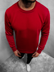 Men's Sweatshirt - Burgundy OZONEE JS/2001-10Z
