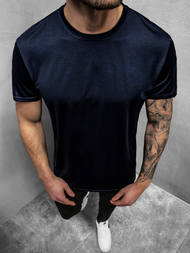 Men's T-Shirt - Dark Dark blue OZONEE JS/S01Z