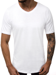 Men's T-Shirt - White OZONEE B/181590
