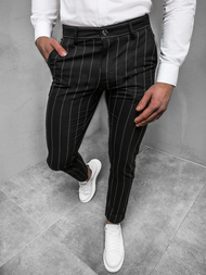 Men's Trousers - Black OZONEE DJ/5501