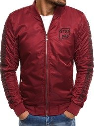 NATURE 5028/18 Men's Jacket - Burgundy