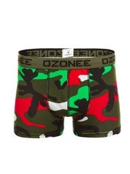 OZONEE 0953 Men's Boxer Shortss - Colourful-Camo
