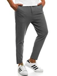 OZONEE B/2001 Men's Trousers - Dark grey