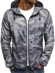 OZONEE RF/192 Men's Jacket - Grey
