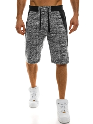 RED FIREBALL W1108 Men's Shorts - Black